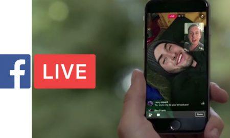 partager facebook live