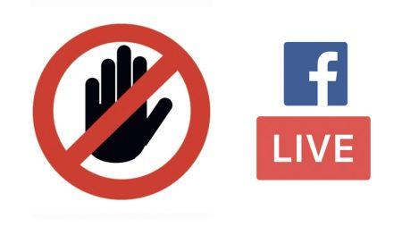Facebook va pénaliser les fausses vidéos Live créées via son API !