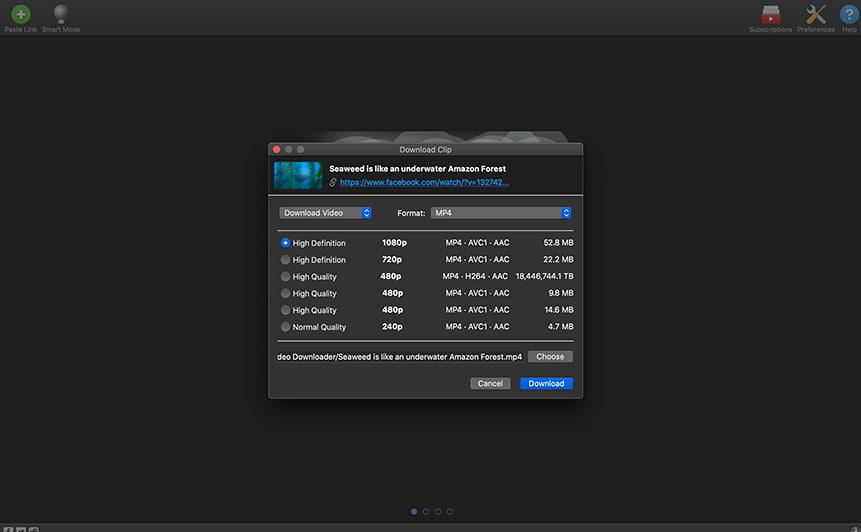 enregistrer video facebook 4k video downloader