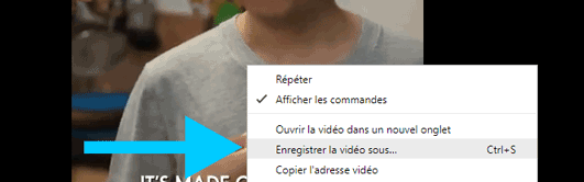 enregistrer video facebook sous