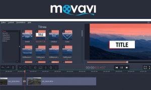 logiciel montage video pas cher Movavi