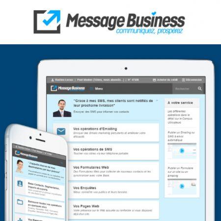Test de Message Business, l'alternative professionnelle à Mailchimp !
