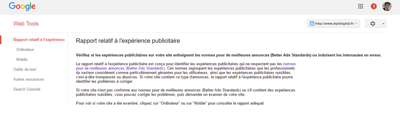 outil test better ads google