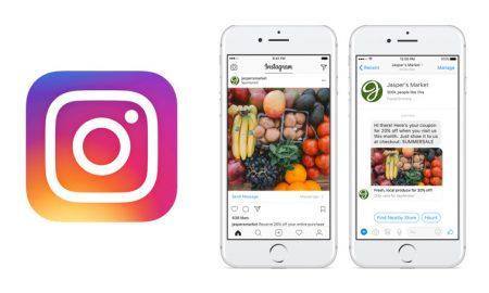 publicité click to Messenger Instagram