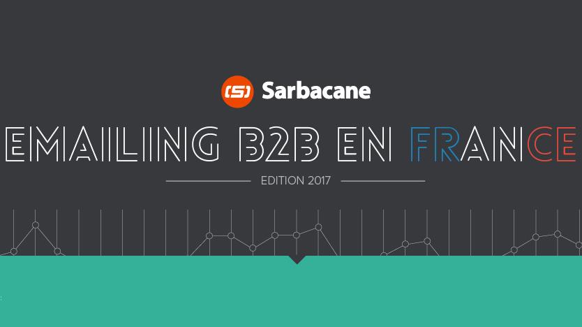Emailing B2B : quelques chiffres et indicateurs clés résumés en une infographie !