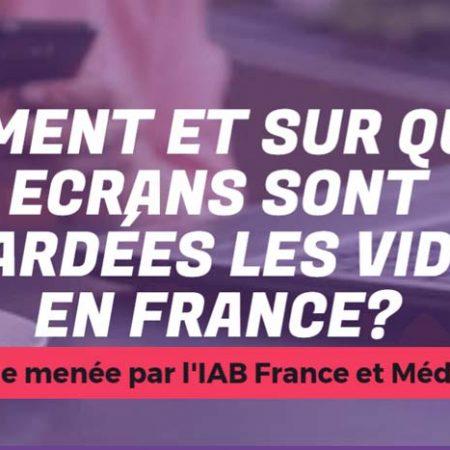 Infographie : la consommation de vidéos en France en 2017 !
