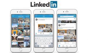 partager plusieurs images Linkedin