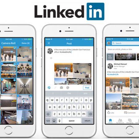 Comment partager plusieurs images via une même publication Linkedin ?
