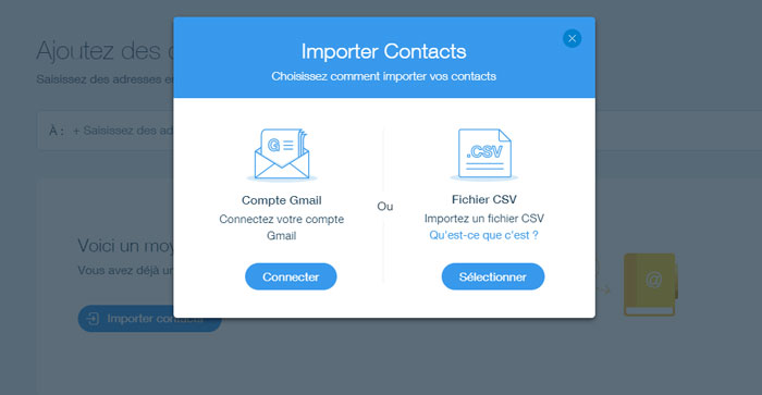 import contacts Wix ShoutOut