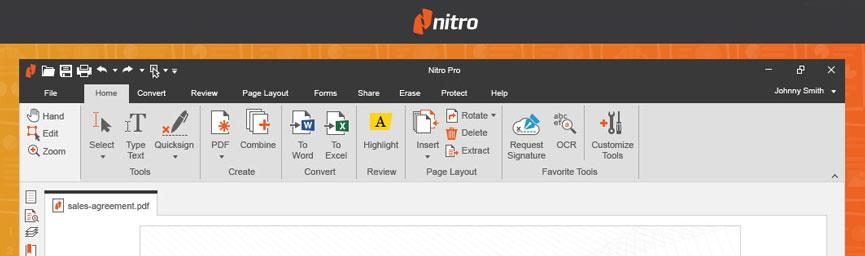 Nitro PDF pro