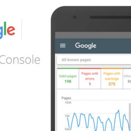 Google Search Console : un nouveau design et de nouveaux rapports arrivent !