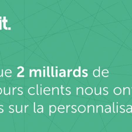 E-commerce et personnalisation : tous les résultats de l'analyse de 2 milliards de parcours clients en une infographie !