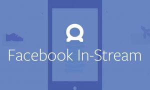 publicité vidéo facebook in-stream