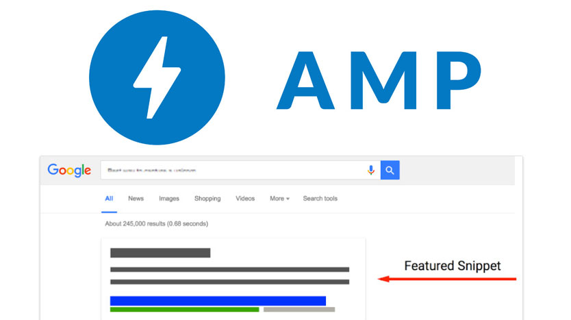amp featured snippet