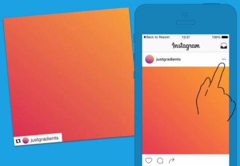astuce regram instagram