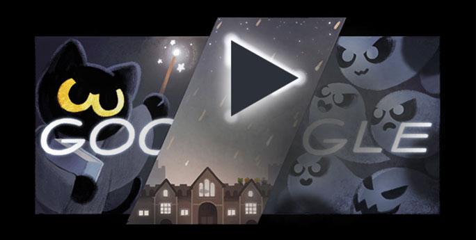 easter egg google chat halloween
