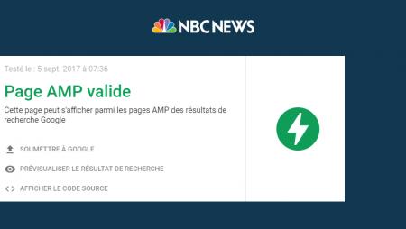 Voici comment NBC News hack AMP pour rediriger du trafic vers sa version mobile !