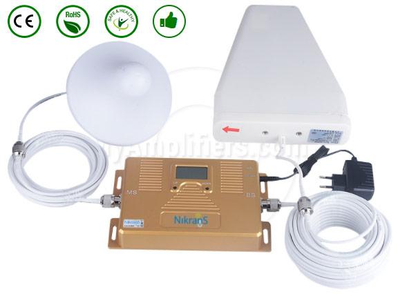 amplificateur nikrans LCD250-GSM-4G