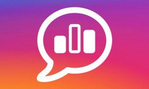 sondage instagram stories