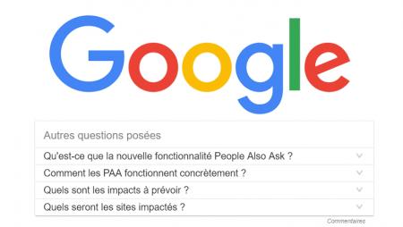 Google lance les People Also Ask (PAA) en France ! Quels impacts concrets prévoir ?