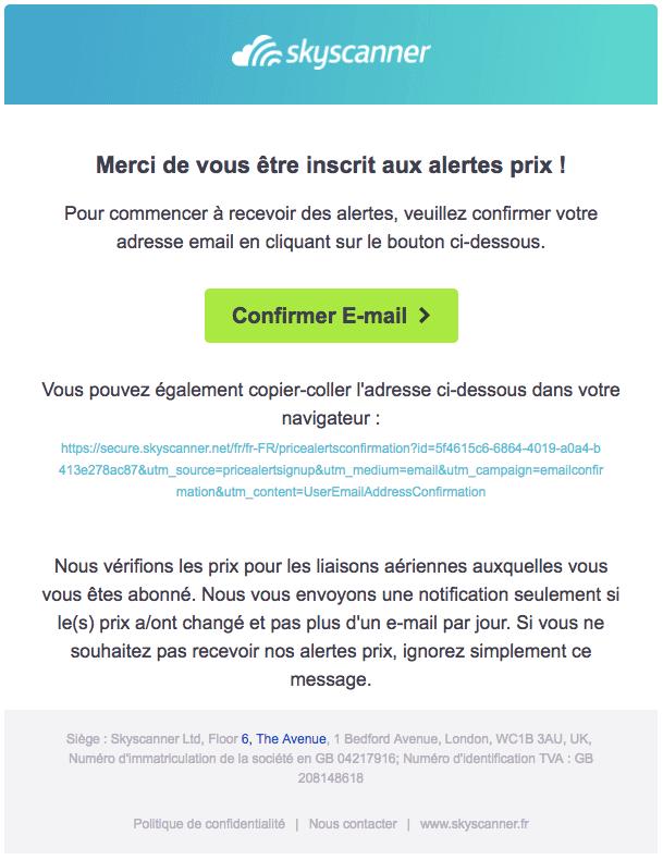 RGPD email marketing double-optin