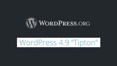 WordPress 4.9 Tipton est disponible : 7 nouveautés à découvrir !