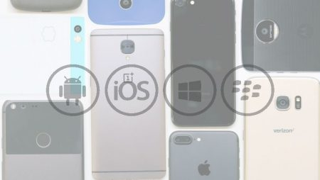 Les parts de marché des systèmes d'exploitation mobiles iOS, Android et Windows en 2017