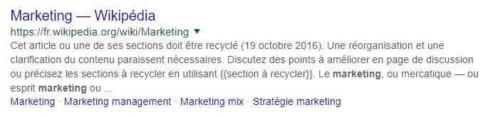 meta description 300 caractères Google