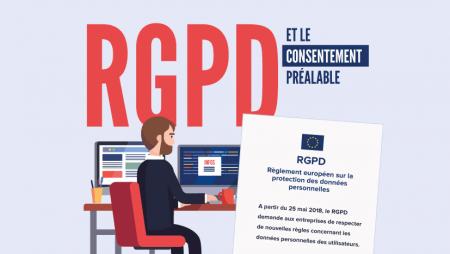 RGPD et consentement préalable en emailing : ce qui va changer en 2018 ! [Infographie]