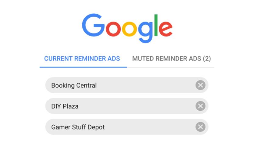 Google va permettre à ses utilisateurs de bloquer et masquer les publicités remarketing !