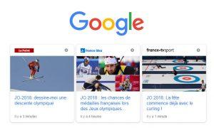 carrousel amp google