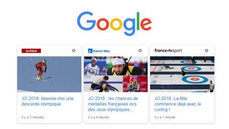 Carrousel AMP «À la une» : Google change ses recommandations pour les images !