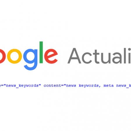 La balise meta news keywords n'est officiellement plus prise en compte par Google !