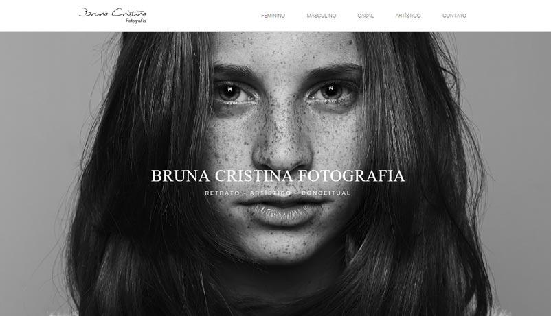 exemple site Wix Bruna Cristina
