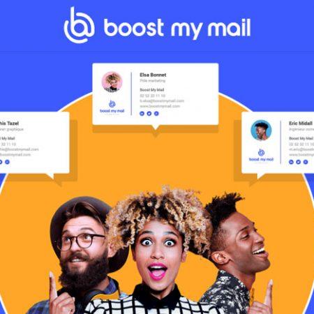 Boost My Mail : une solution tout-en-un de gestion de signatures mail