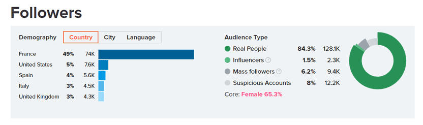 audience type hypeauditor