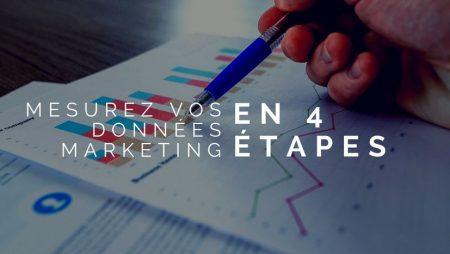 Mesurez vos données marketing en 4 étapes
