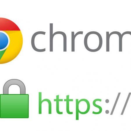 Google Chrome 68 : tous les sites non HTTPS marqués « Non sécurisé » !