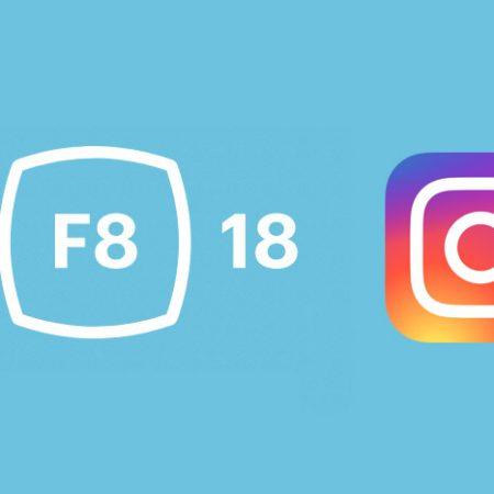 Instagram : 3 nouveautés annoncées lors de la conférence F8 !