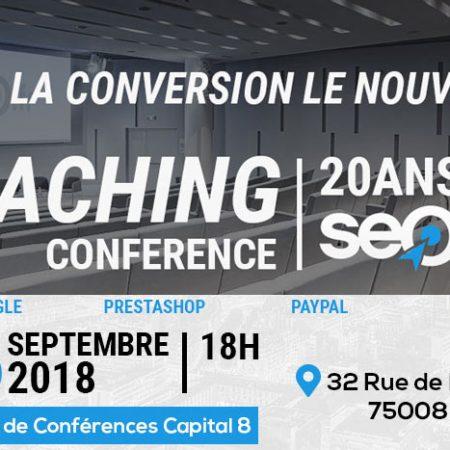 Événement – After Work SEO : «Suivre et améliorer son taux de conversion» le 26 Septembre à Paris