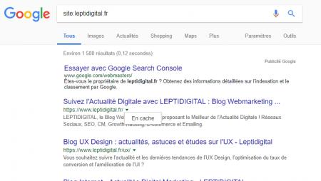 Cache Google : comment visualiser quelle version de votre page est en cache ?
