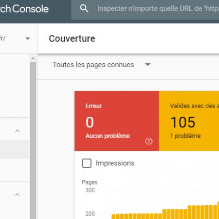 Rapport couverture de l'index dans Search Console : il y a du changement pour les sites «mobile-first» !