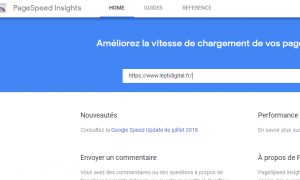 Nouveau Google Page-Speed Insights