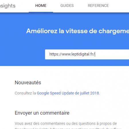 Google PageSpeed Insights fait peau neuve (avec ajout de nouvelles fonctionnalités) !