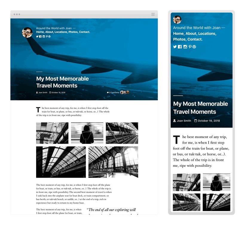 nouveau thème WordPress gratuit Twenty Nineteen