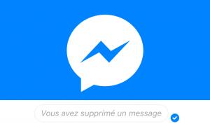supprimer message messenger