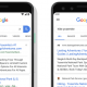 changements ui serps google mobile