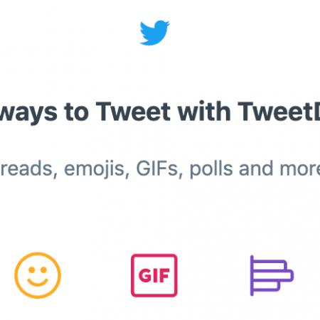 5 Nouveautés déployées sur TweetDeck