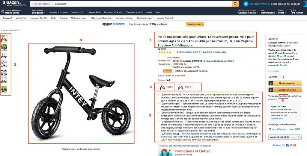 optimiser listing amazon seller central