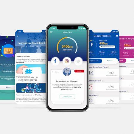 My Ciircle : une app complète pour développer ses réseaux sociaux